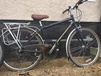 Viking classic vintage hybrid bike for town