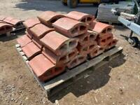 JUST COME IN- Good condition Terracotta coping stones.