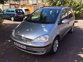 2005 Ford Galaxy 2.3 i Zetec 5dr Full Service History HPI Clear @07445775115@ 07725982426@