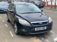 ULEZ COMPLIANT Black 2011 (60 Plate) Ford Focus 1.6 Manual Petrol
