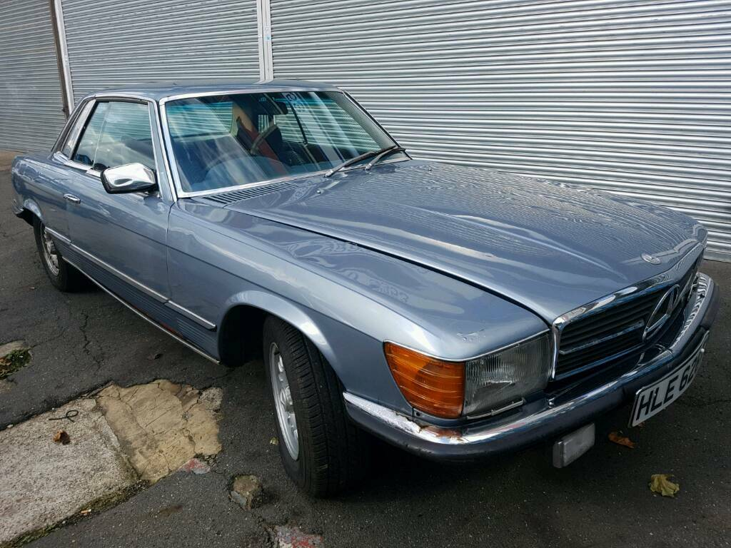 1979 Mercedes 350 slc V8 petrol automatic good Project car | in ...