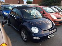 2005 VW Beetle convertible 1.6 great condition cabriolet