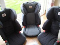 Car seat (high backed booster)