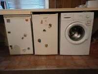 Fridge fridge freezer washing machine