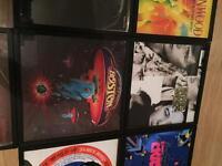 Selection of framed original vinyl. £9 each or 3 for £24