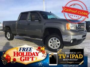2013 GMC SIERRA 2500HD SLT Crew 4x4 Diesel (Heated Seats, Nav)
