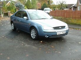 2003 ford mondeo WELL MOTED! GENUINE LOW MILES! LOTS OF RECEIPTS!