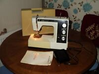 toyota 9400 sewing machine with instructions book