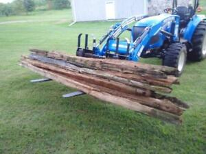 Cedar Rails for Sale 10, 12  and 14 foot lengths, $5.00 each