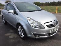 BARGAIN! Vauxhall corsa sxi, low miles, full years MOT ready to go