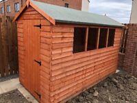New garden shed (built up) east benton rise