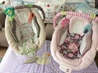 Baby bouncer chairs