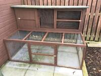 Large Rabbit Hutch and Run with loads of extras included