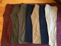Bundle of men's trousers