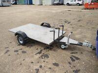 3 motocross bike trailer , motorcycle , Quad Trailer Flat bed , off road, track day 500kg