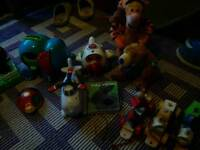 Large collection of baby toys