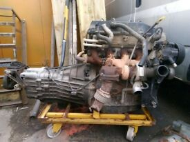 Transit 2.4 TDci engine and gearbox