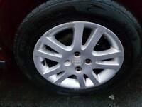 R15 4 stud honda sport car alloys / gd 195 /50/r15 tyres