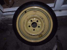 """15"""" Toyo Space Saver Spare Wheel (E60 T115/70D15 90M)"""