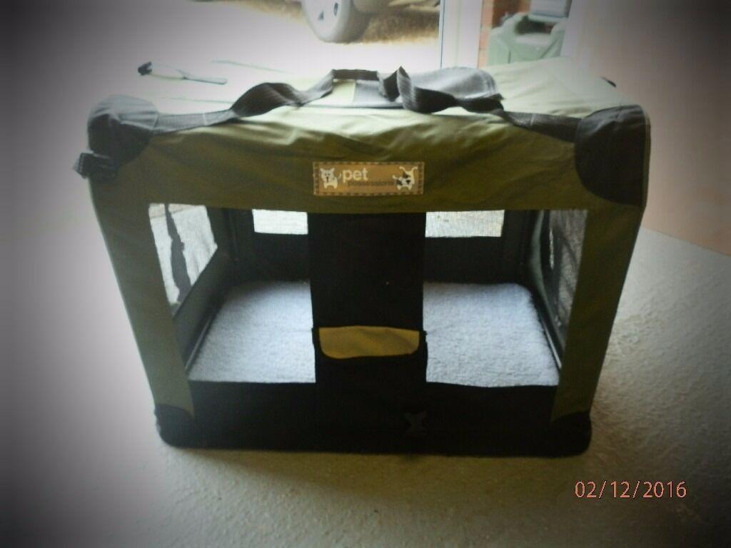 Dog - Fabric Travel Box.