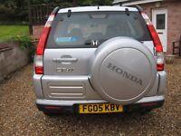 Honda CRV-Vtec SE Automatic Estate 1998 cc Petrol 2005 Excellent cond