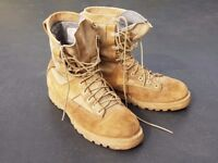 US Army Desert Tan Belleville Boots - Mens - UK Size 8.5