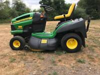 John Deere X130R ride on tractor mower lawnmower 2010 154 hours VGC