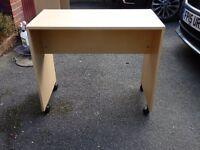 Childs bedroom desk or bedside table