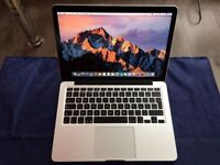 "APPLE MACBOOK PRO 13"" RETINA [2013] i5 8GB RAM 256 SSD=fixed price=COLLECTION FROM SHOP E17 9AP"