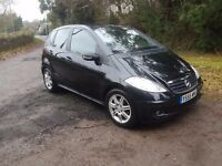 2006 MERCEDES A CLASS 1.5 IN METALLIC BLACK FULL HISTORY LOW MILES NEW MOT VERY CLEAN CAR THROUGHOUT