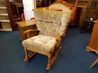 Oak Cottage rocking Chair