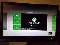 Xbox 360 Arcade, 60gb HDD, Kinect + games
