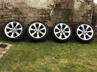 """18"""" BMW Alloys & Tyres"""