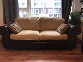 TWO Large TWO SEATER Sofas