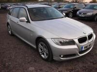BMW 3 SERIES 2.0 318D ES TOURING 5d 141 BHP (silver) 2011