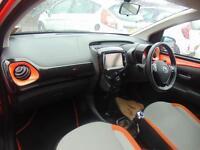 Toyota Aygo VVT-I X-CITE (orange) 2015-04-27