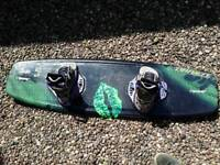 Wakeboard with bindings for ladies