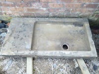 Reclaimed stone trough/sink