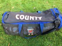 Junior 'County' Cricket Bag + Kookaburra Stumps + Training Ball