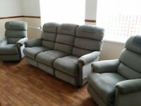 Soft Green recliner suite