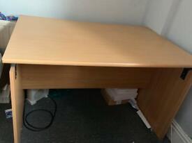 IKEA GALANT corner desk left in birch veneer, dismantled