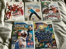 NINTENDO Wii 5 GAMES