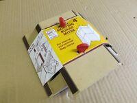 wooden mitre cutting jig