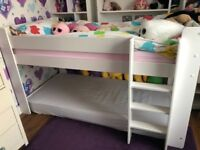 High Sleeper Bed - Child (white)