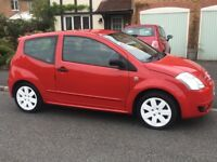 QUICK SALE: Citroen C2 GT 1.6 petrol. Low Milage