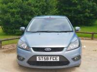 FORD FOCUS ZETEC 2008 5DOOR MOT TILL16/5/2019 10 SERVICES HPI CLEAR EXCELLENT CONDITION