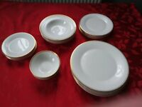 Royal Doulton Gold Concord Dinner Service for 6