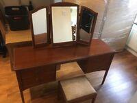 dark mahogany furniture. Dark Mahogany Wood Matching Stag Bedroom Furniture Set A