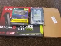 GeForce GTX 1080 + Corsair RAM 32GB + HDD 8TB