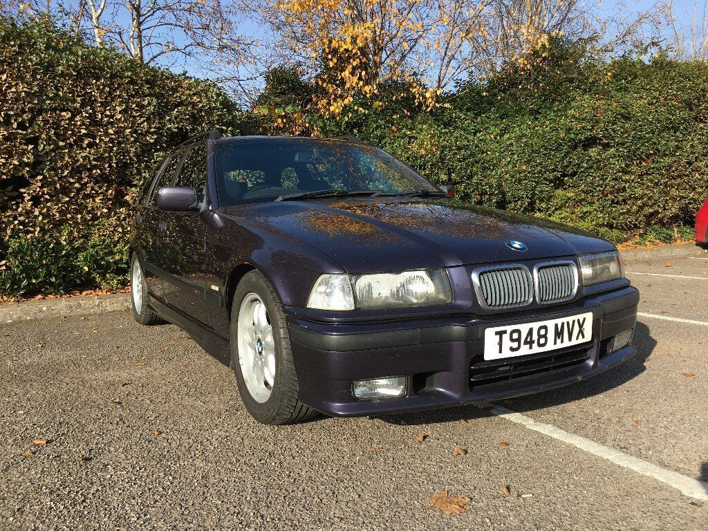 1999 bmw e36 323i sport touring manual techno violet with black electric leather seats in. Black Bedroom Furniture Sets. Home Design Ideas